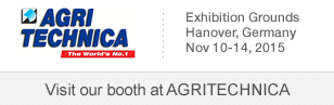 SignalQuest will be exhibiting the Agritechnica - November 10-14, Hanover, Germany