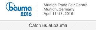 SignalQuest will be attending the bauma 2016 trade show, April 11-17, Munich Germany